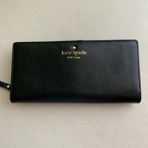 Kate Spade Zoey Cobble Hill Black Wallet